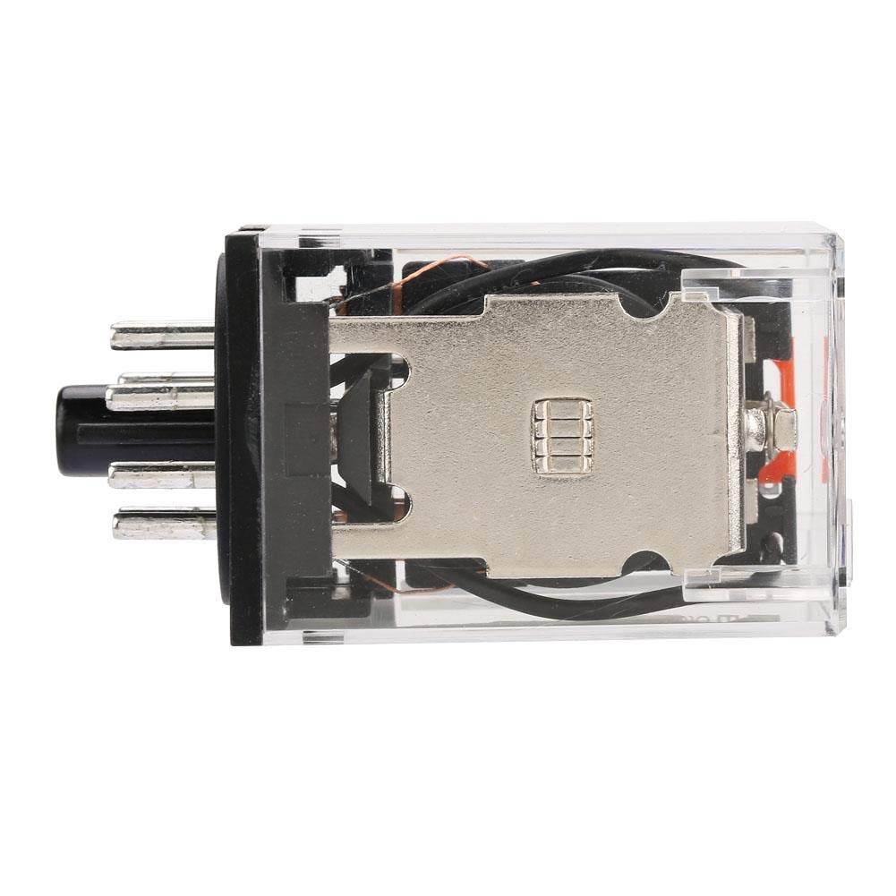 General-Purpose Electromagnetic Electric Power Relay with Silver Alloy 8 Pins 10A Installation H Contact AC 220V