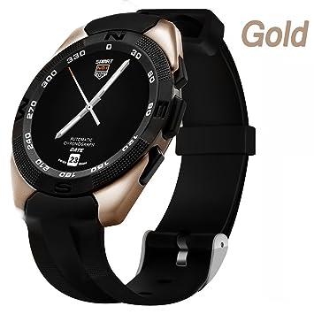 Gold Reloj Inteligente De Seguimiento De Fitness For Girls , Shengyaohul Smart Watches Bluetooth Del Grifo