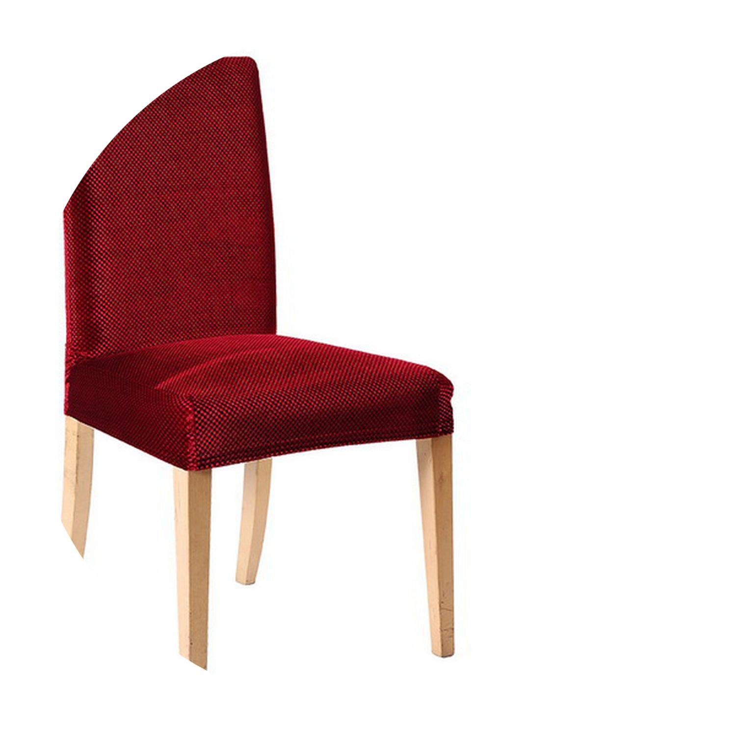 Amazon.com: Red Wine Dining Chair Covers Cover for funda ...