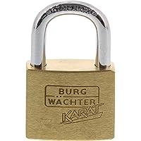 Burg-Wächter cilinder-hangslot, 5 mm beugeldikte, knijpbescherming, 6 sleutels, karaat 217 30 SB, beugelhoogte: 17,5 mm