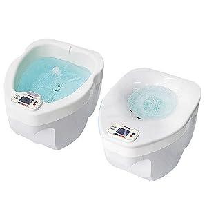 Dual Spa Plus ASW-1000 Sitz Bath & Foot Bath 2 in 1 Homedics Hip Feet Care 220V