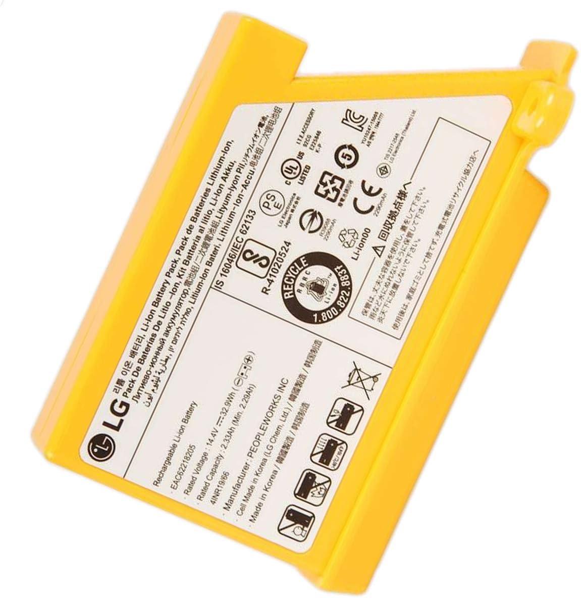 Batería para aspirador robot EAC62218205 LG: Amazon.es: Grandes ...
