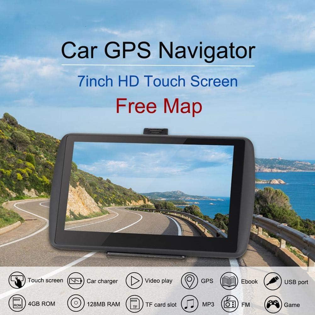 GPS Voiture Navigation Keenso Syst/ème de Navigation GPS Portable /à Ecran Tactile Universel HD de 7 Pouces pour Camion de Voiture