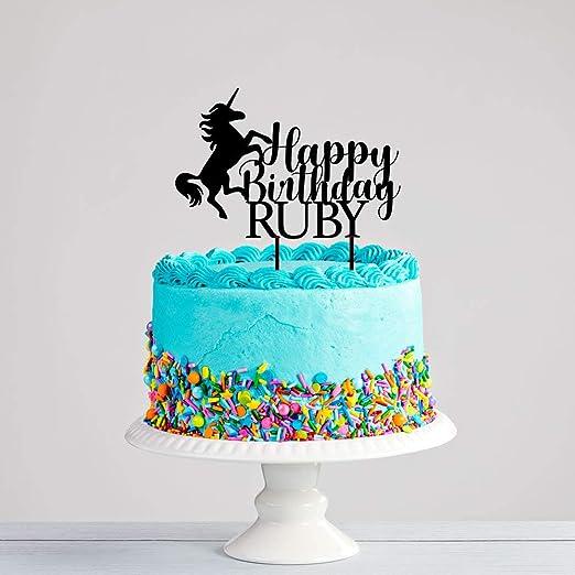 Decoración personalizada para tarta de cumpleaños de ...