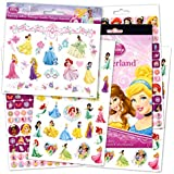 Disney Princess Reward Stickers and Tattoos Bundle With Over 200 Stickers and Disney Princess Temporary Tattoos