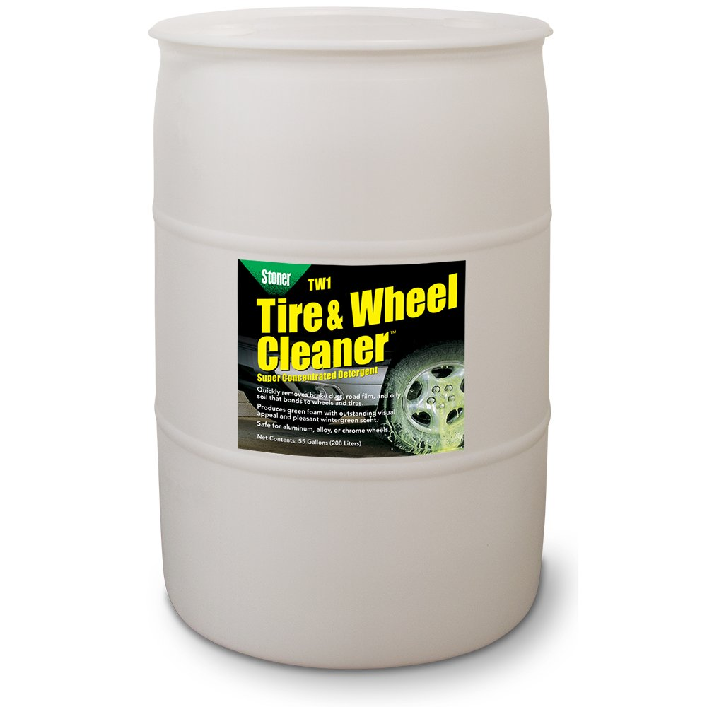 Stoner Car Care 91208 Tire and Wheel Cleaner Super Concentrated Detergent, 55 gallon