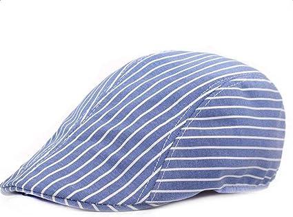 Sombrero De Algodón De Rayas Casuales De Verano Sombrero De ...