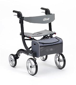 Drive Medical negro Nitro rueda andador (de IVA en el Reino Unido ...