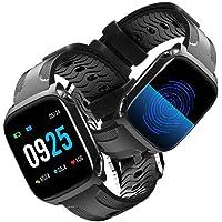 Smartwatch Reloj Inteligente Pulsera Actividad Inteligente para Deporte,Toque completo Pantalla a color de 1.3 pulgadas Reloj Iinteligente Hombre Mujer niños,Reloj de Fitness para Android y iOS