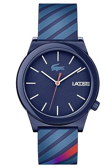 Lacoste Reloj Análogo clásico para Hombre de Cuarzo con Correa en Silicona 2010934: Amazon.es: Relojes