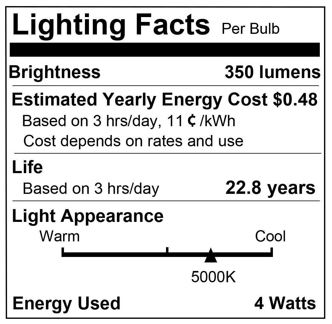 LOHAS Smart LED Candelabra Bulb E12 Base, Smart Daylight 5000K Single Color WiFi LED Light Bulb, 50w Equivalent Dimmable with APP, Compatible with Alexa Google Assistant for Ceiling Fan Lights, 4 Pack by L LOHAS LED (Image #8)