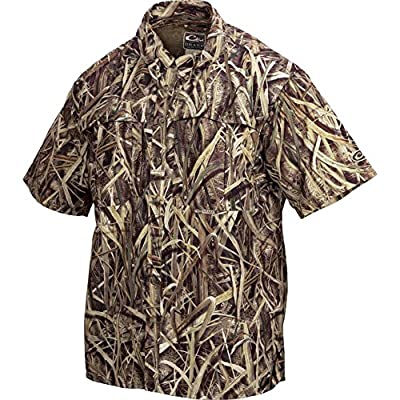 Drake Wingshooter Short Sleeve Shirt - Original Bottomland