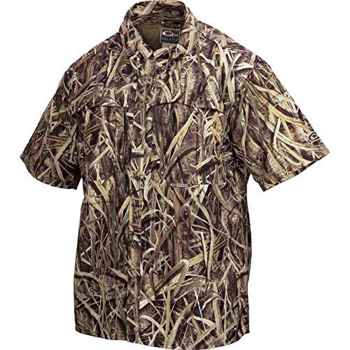 d17f6f1b1d1 Amazon.com  Drake Men s EST Short Sleeve Camo Vented Wingshooter s ...