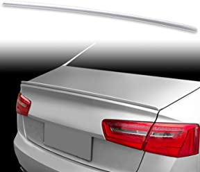 PEC Ebony FYRALIP Painted Factory Print Code Trunk Lip Wing Spoiler For Jaguar S-type Sedan 1998-2008 Fast Delivery Easy Installation Perfect Fit