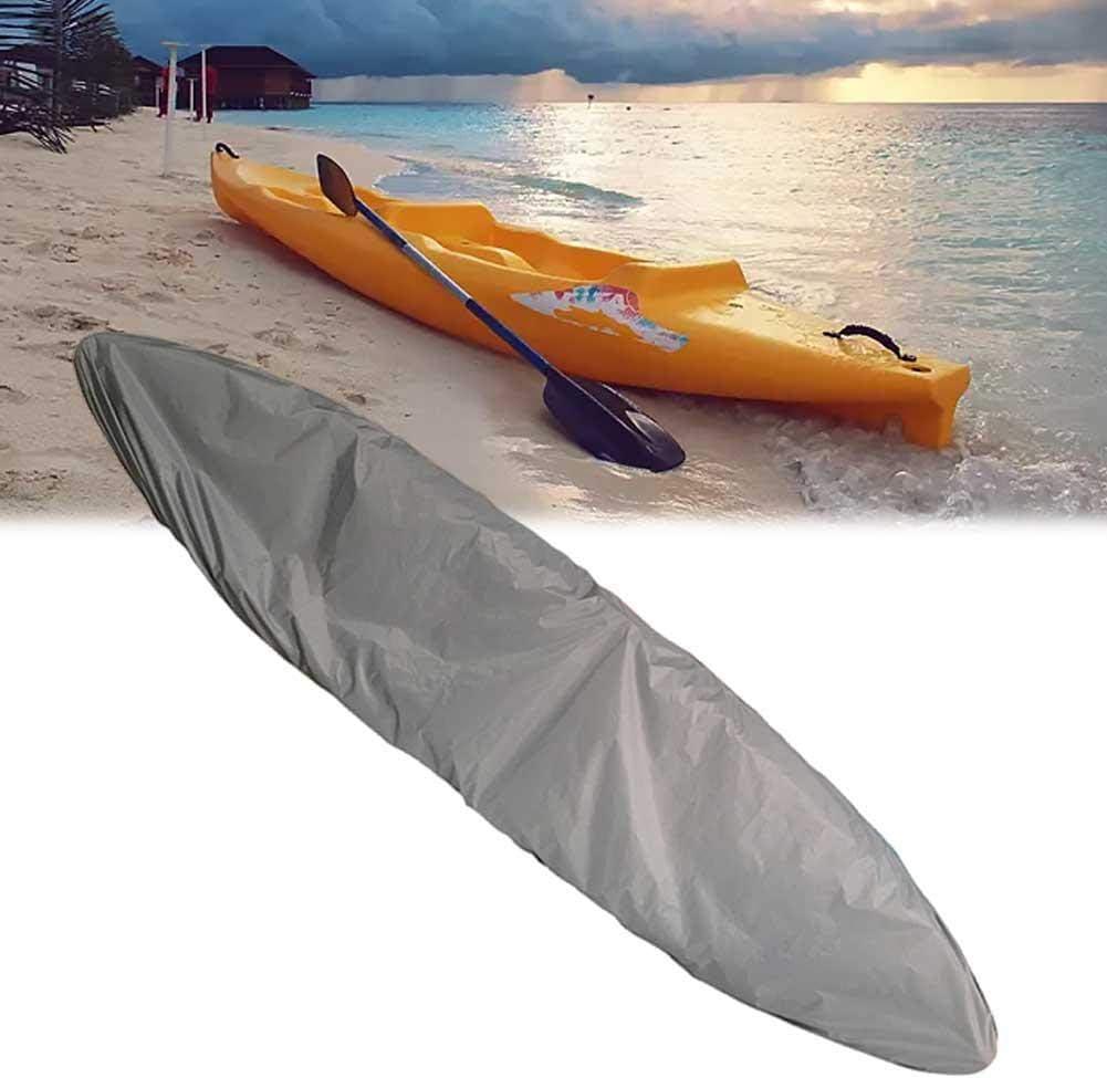 Couverture Kayak Housse Protection Anti-poussi/ère Protection Universelle pour Bateaux Etanche Protection Solaire UV pour Bateau P/êche Stockage Ext/érieur