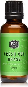Fresh Cut Grass Fragrance Oil - Premium Grade Scented Oil - 30ml