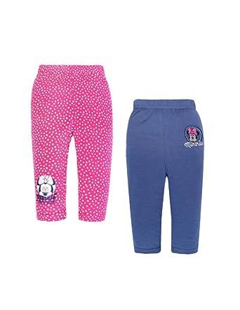 Minnie Lot de 2 Leggings bébé Fille Marine et Rose de 6 à 24mois  Amazon.fr   Vêtements et accessoires 434f08d0cda