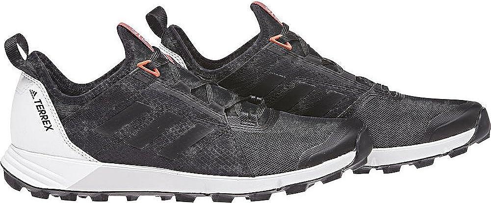 adidas outdoor Womens Terrex Agravic Speed Shoe (9.5 - Black/Black/Black)