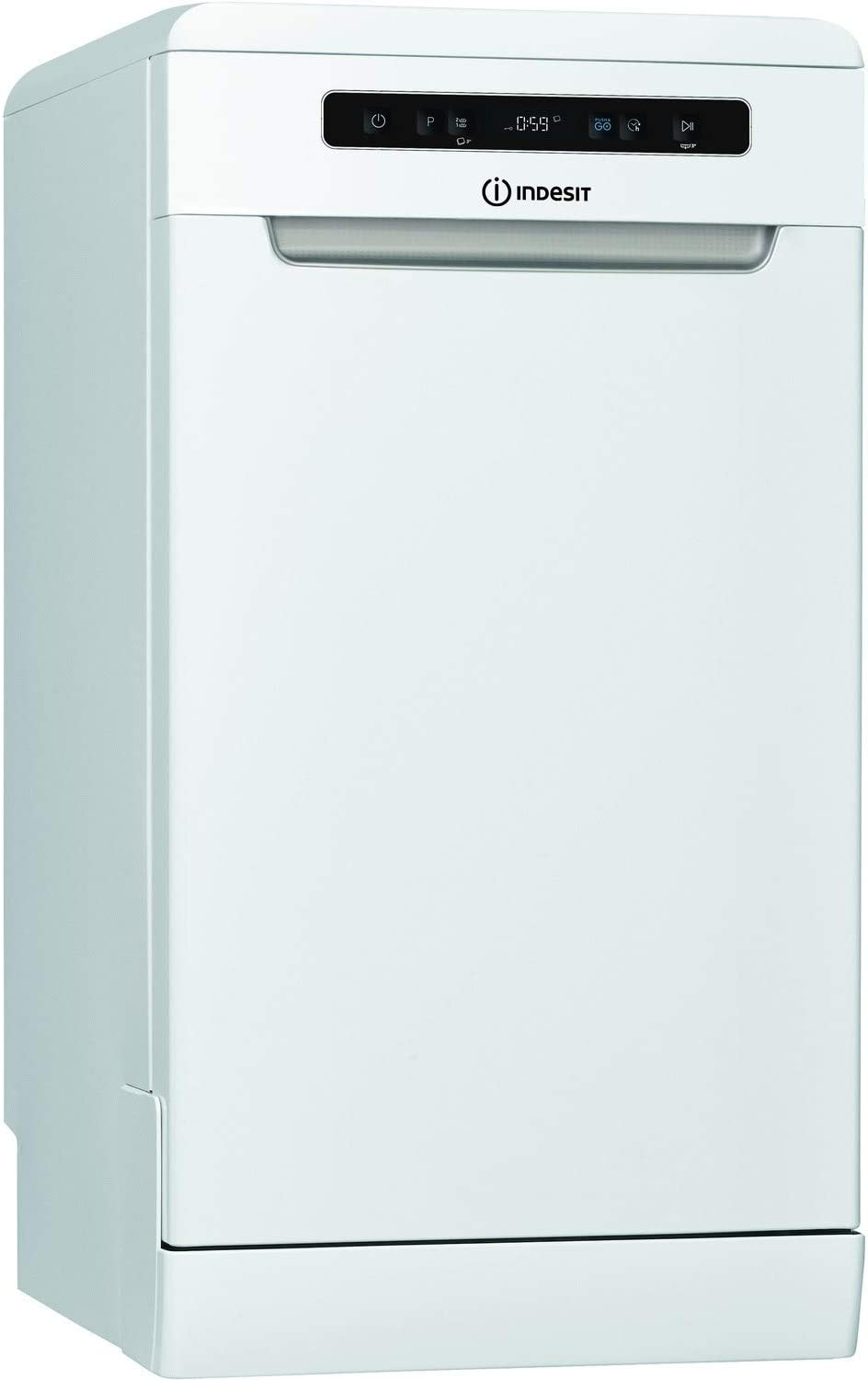 INDESIT DSFO3T224Z 10 Place Slimline Freestanding Dishwasher - White [Energy Class A++]