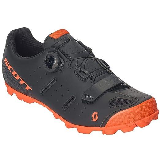 Scott 2019 Elite Boa - Zapatillas para Bicicleta de montaña, Color Negro y Naranja: Amazon.es: Deportes y aire libre