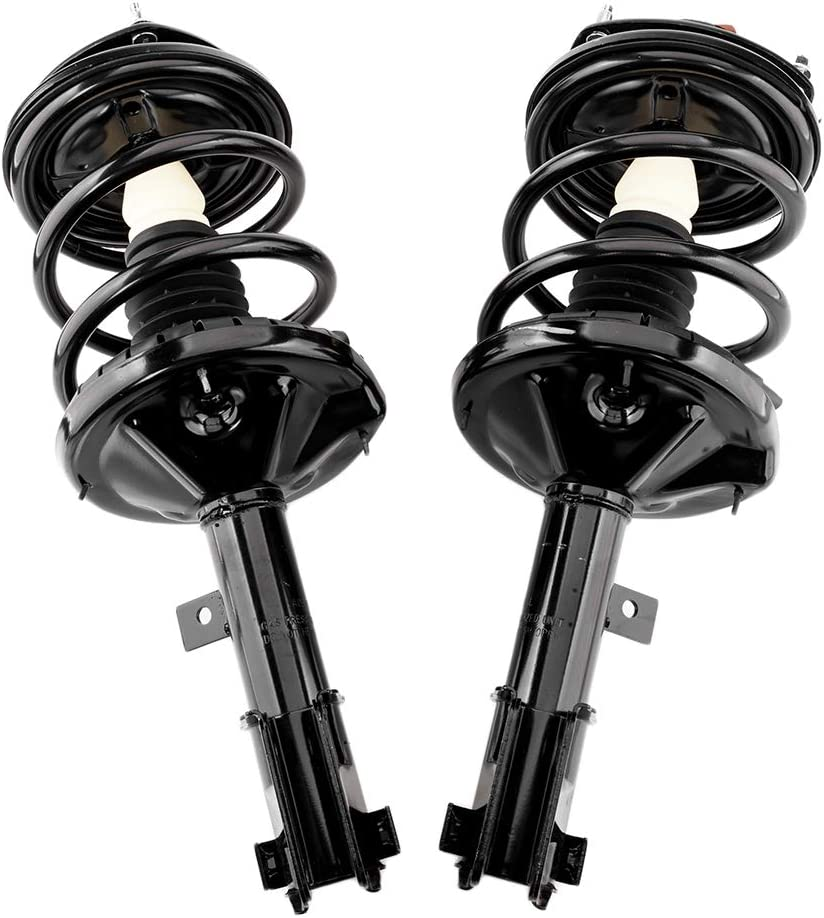 Pair Front Left Right Quick Strut /& Coil Spring Complete Assembly Shock Absorber for 2000-2005 Mitsubishi Eclipse 172147-172148