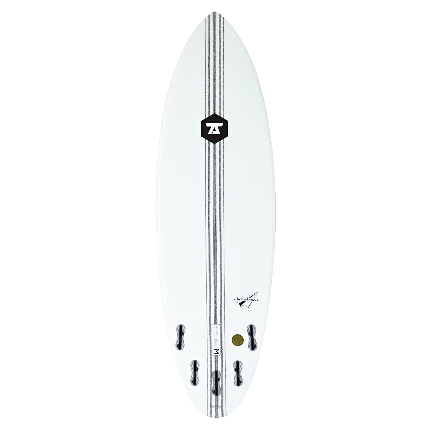 7S Jetstream Innegra Matrix FCS II - Tabla de surf (152 cm), transparente: Amazon.es: Deportes y aire libre