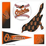 "MLB Baltimore Orioles ""5-Piece"" 3D Multi-Magnets"