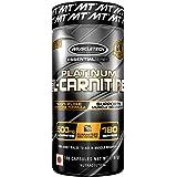Muscletech Essential Platinum Series 100% Carnitine, 180 Capsules.