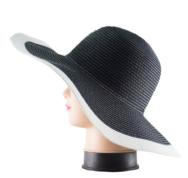 Samgo Grace Elegance Womens Big Wide Brim Beach Sun Hat