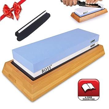 Kit de piedra afiladora de cuchillos de primera calidad de 2 ...