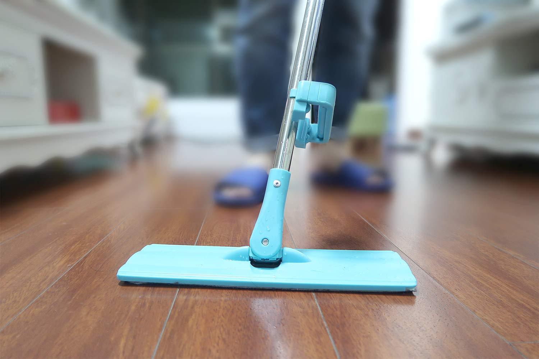 Amazon.com: Microfiber Floor Mop, Ohuhu 2-Pack Hands Free Self ...