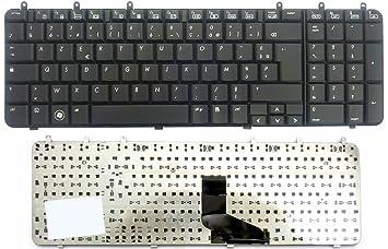 Teclado francés AZERTY negro para ordenador portátil HP COMPAQ Pavilion dv7 - 1000 - Visiodirect -: Amazon.es: Informática