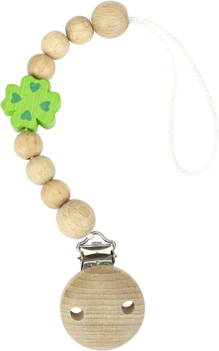 1 pezzo con catena di fissaggio per bambini Set di radice di violetta Catena in legno