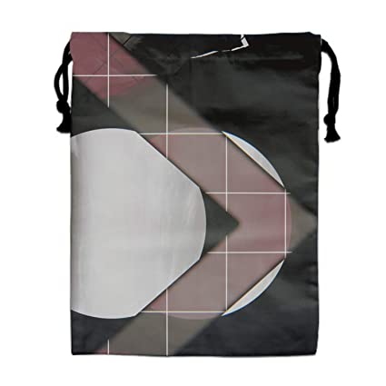 Drawstring Bags Drawstring Backpacks Bags Helicopter Airship Plane Pattern Sports Gym Sackpack Tote Travel Rucksack