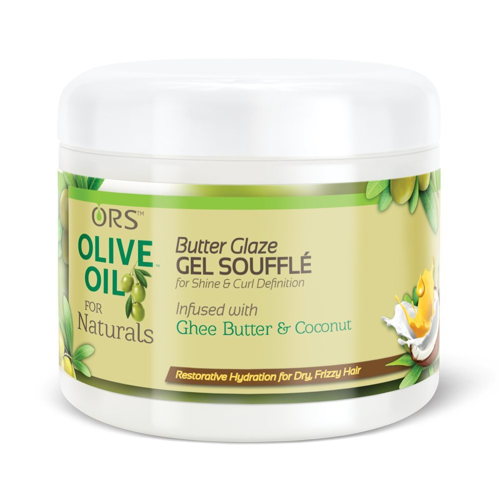 ORS Olive Oil For Naturals Butter Glaze Gel Souffle Atlas Ethnic 11302