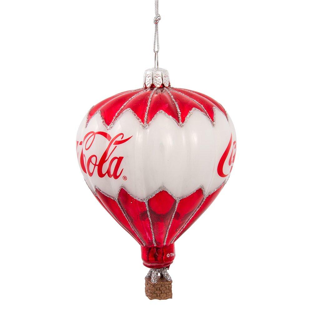 Amazon.com: Kurt Adler Coca-Cola Glass Balloon Ornament, 3.5-Inch ...