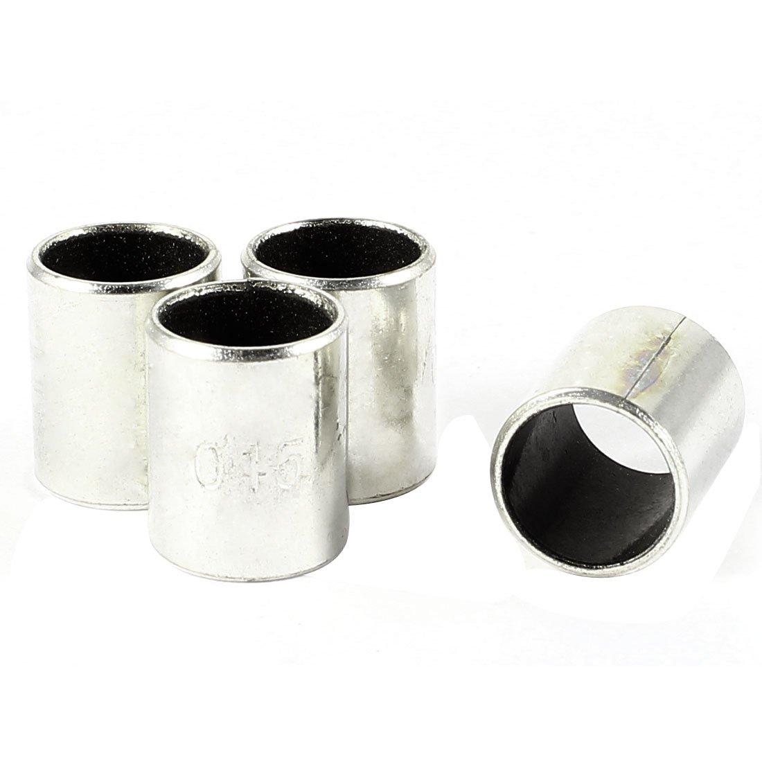 4/pcs 6/mm Longueur X 14/mm OD X 12/mm al/ésage ton argent Uni /à manches Roulement