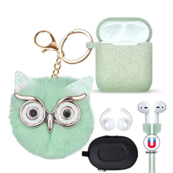 Amazon.com: Funda Airpods Coreda Airpods Funda Silicona Case ...