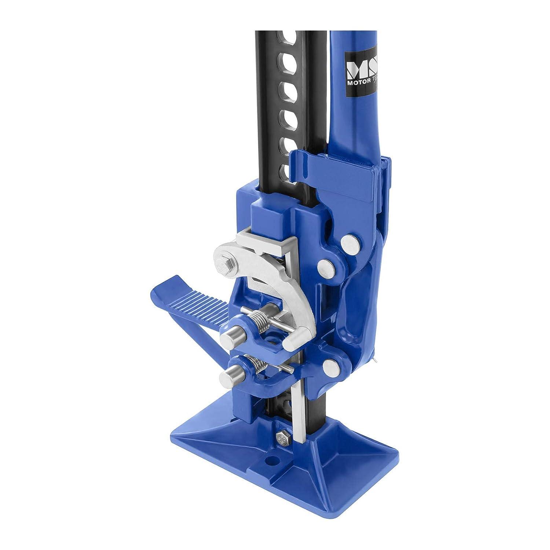 MSW Gato Hi-Lift Elevador para Coche MSW-OWH-3000 Carga M/áxima 2.500 kg, Abrazadera del Acoplador Superior Ajustable, Elevaci/ón 13,5-110 cm