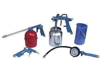 Labor 10938 Kit Accesorios para compresor (5 unidades): Amazon.es: Bricolaje y herramientas