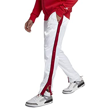 3f4c929ea22a4 Nike Men's Jordan Track Pants White/Red AQ0940 100 (Large) at Amazon ...