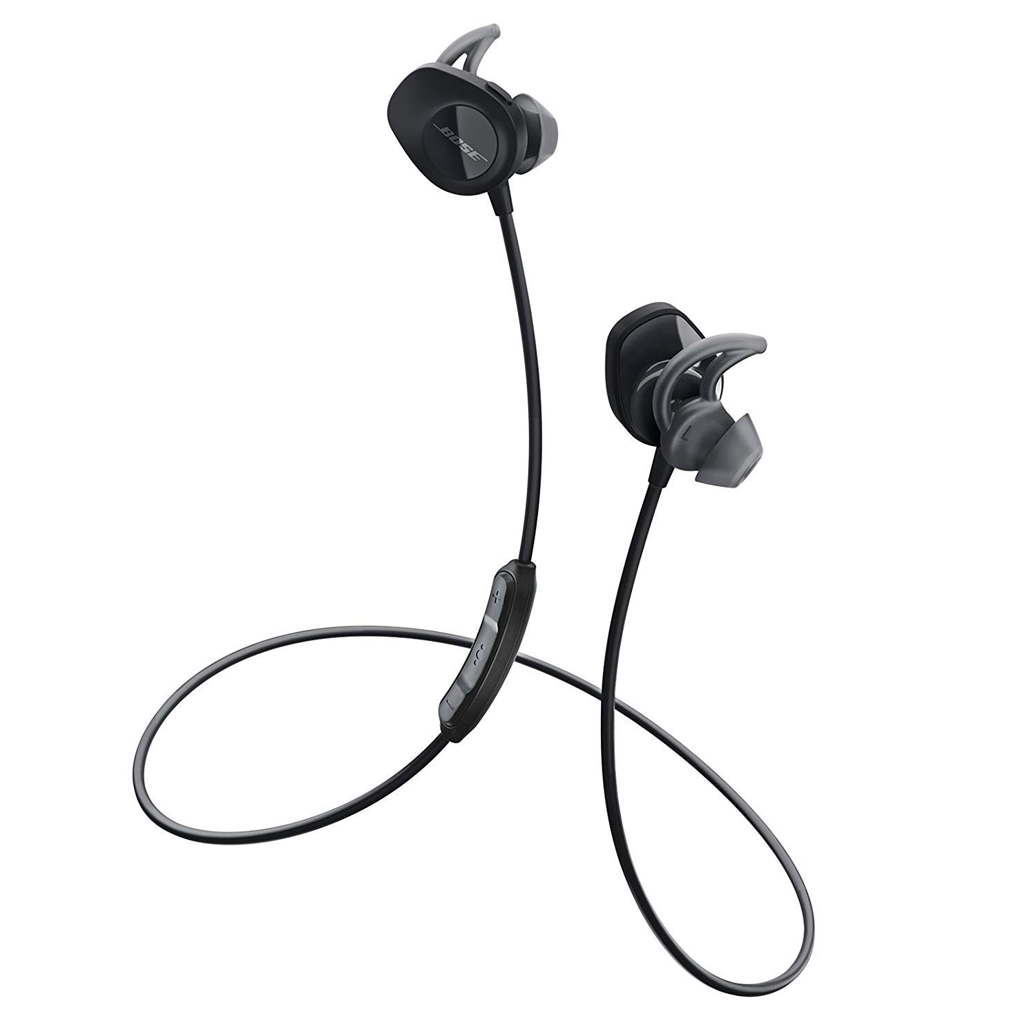 888f30285d2 Bose SoundSport Wireless Headphones (Black): Buy Bose SoundSport Wireless  Headphones (Black) Online at Low Price in India - Amazon.in