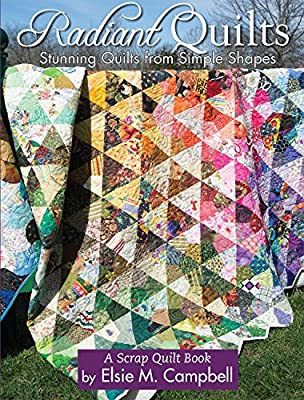 Creative Scrap Quilt pattern /& templates I Love to Quilt ~ Sewing Machine Cover