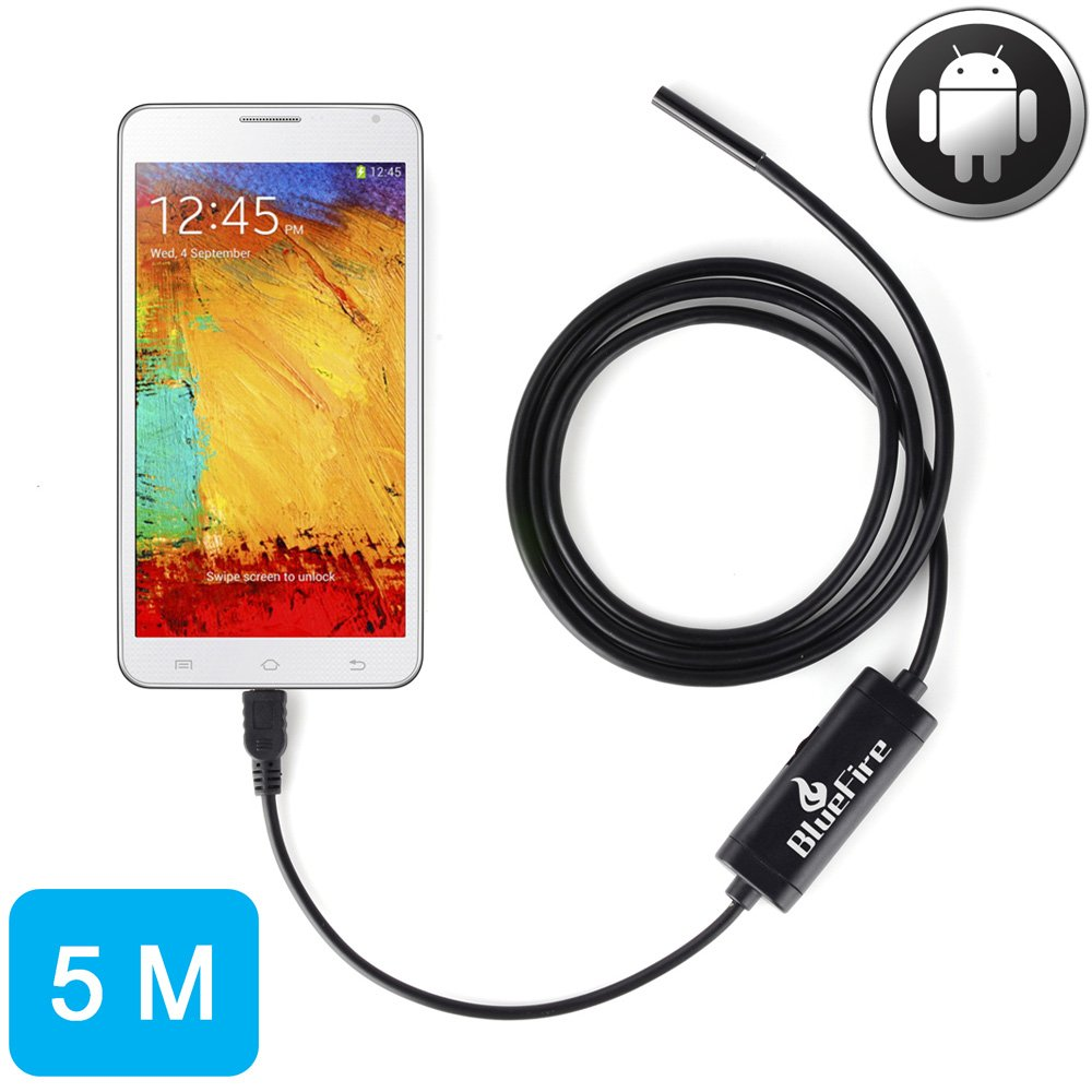 Endoscope Tube for Smart Phones with OTG and UVC Function