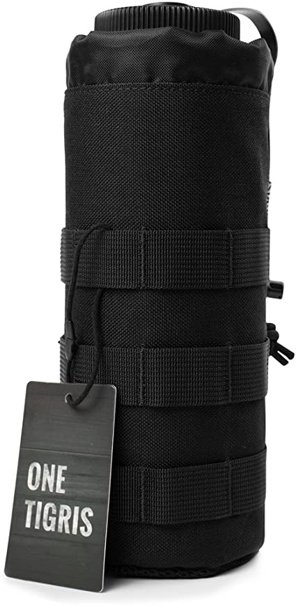 OneTigris Water Bottle Holder Tactical Bottle Pouch MOLLE Utility Water Pouch