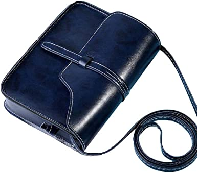 Ladies Messenger Bags,Casual Leather Square Tote Bags Wallet Shoulder Crossbody Purse