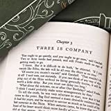 Lord of The Rings Three-Volume Book Set with Custom Designed Doors of Durin Juniper Books Dust Jackets - Green | Author J.R.R. Tolkien