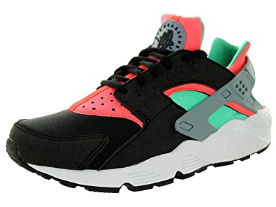 meet 06022 ba1aa Image Unavailable. Image not available for. Colour  NIKE Women s Air Max Huarache  Run Black Black Menta Hot Lava ...