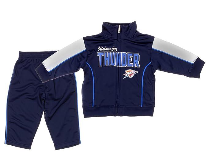 Oklahoma City Thunder NBA para bebé y niños Chándal juego, Azul ...