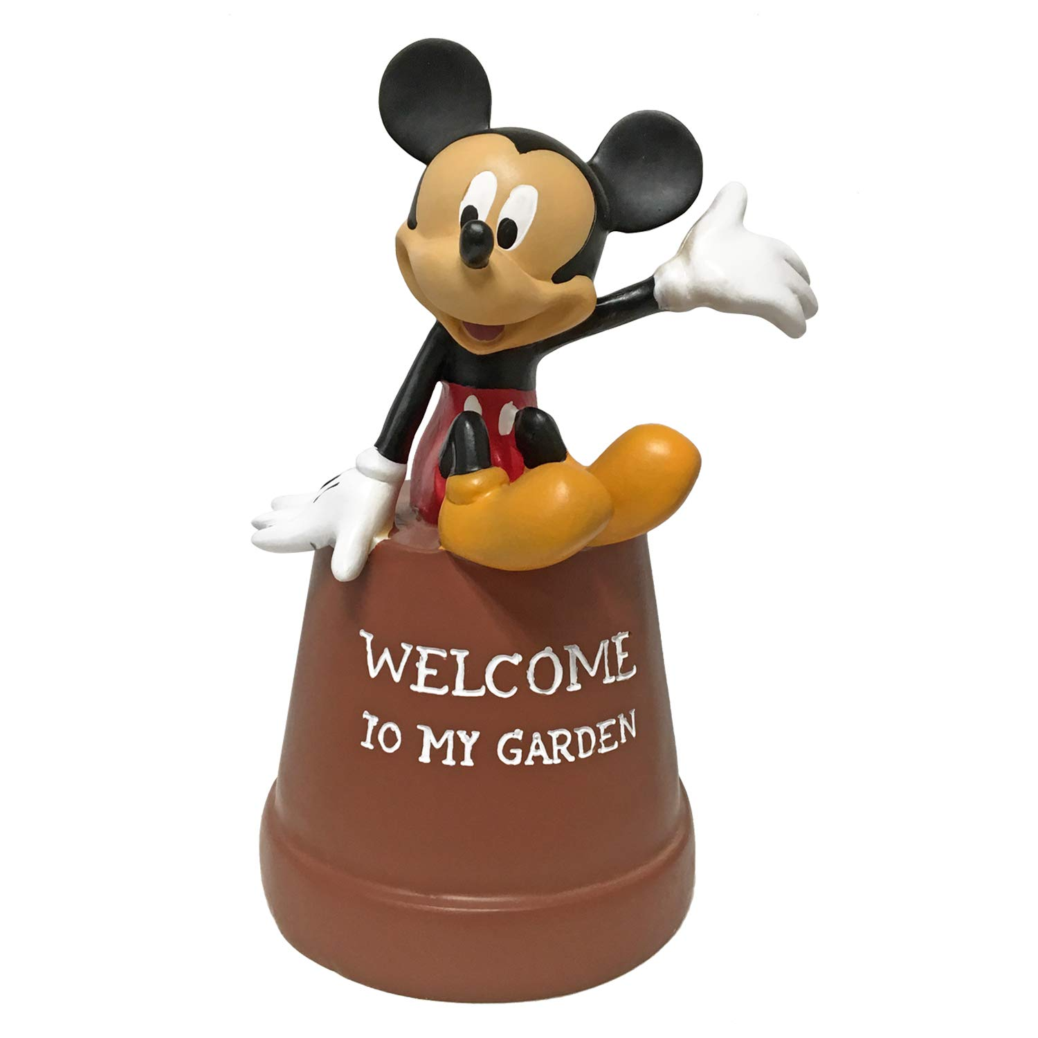Mickey Mouse Key Hider Pot Diversion, Hand-Painted, Official Disney Licensed Product 7 Inches Tall